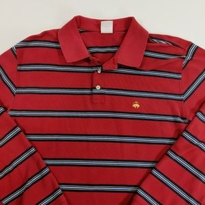 Brooks Brothers Long Sleeve Performance Polo